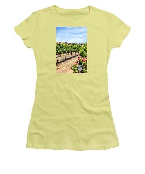 Days Of Vines And Roses Women's T-Shirt (Junior Cut) by Chris Smith