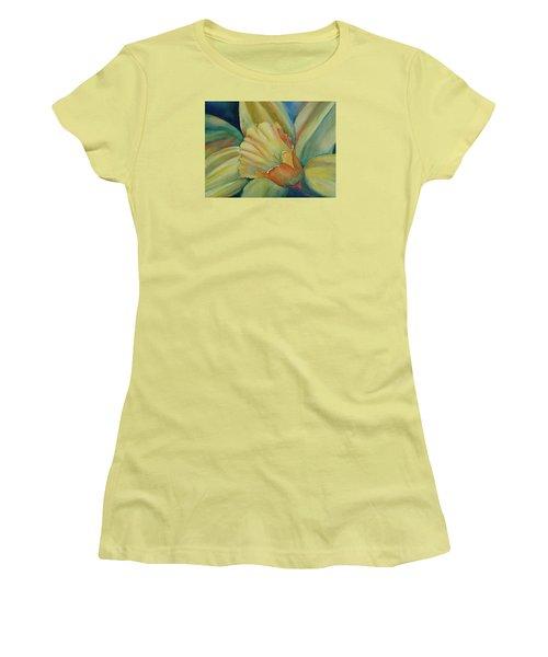 Dazzling Daffodil Women's T-Shirt (Junior Cut) by Ruth Kamenev