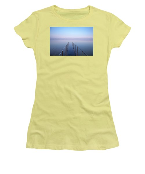 The Dead Sea Women's T-Shirt (Junior Cut) by Yoel Koskas
