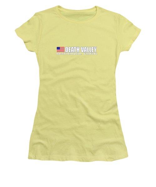 Death Valley Women's T-Shirt (Junior Cut) by Brian's T-shirts