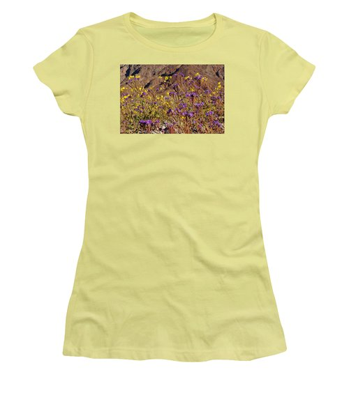 Death Valley Superbloom 401 Women's T-Shirt (Athletic Fit)