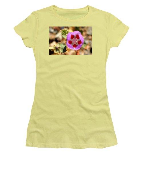 Women's T-Shirt (Junior Cut) featuring the photograph Death Valley Superbloom 504 by Daniel Woodrum