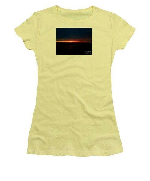 December Dawn,  Rays Of Hope  Women's T-Shirt (Junior Cut) by Patricia E Sundik