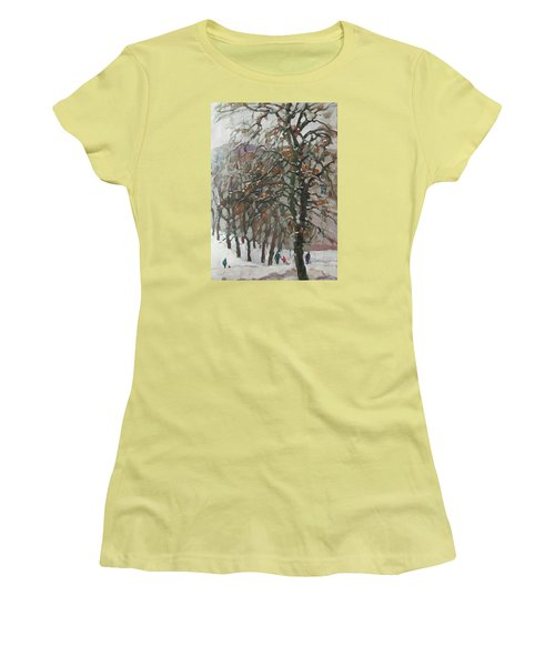 December Women's T-Shirt (Athletic Fit)