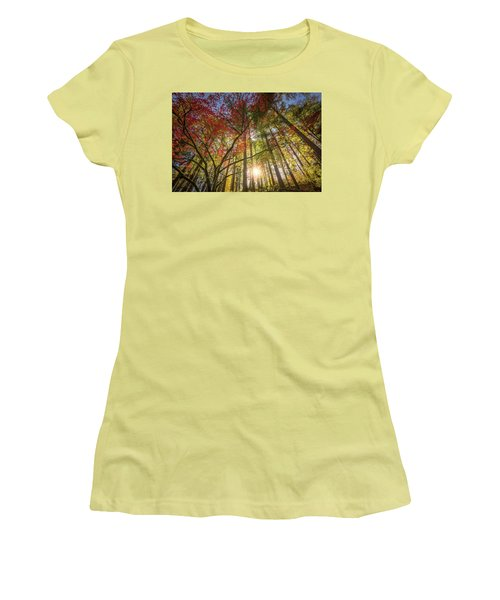 Decorated By Japanese Maple Women's T-Shirt (Athletic Fit)