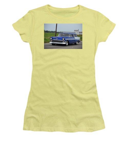 Deep Cajun Heavy Chevy Women's T-Shirt (Athletic Fit)