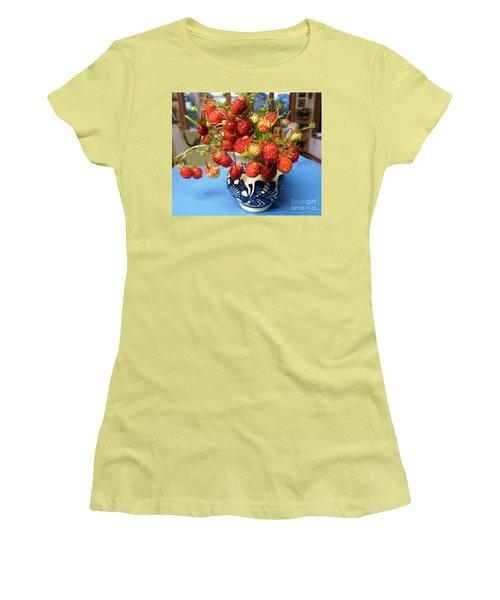 Delicate Women's T-Shirt (Junior Cut) by Vicky Tarcau