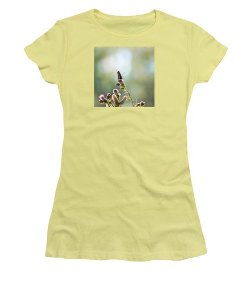 Women's T-Shirt (Junior Cut) featuring the photograph Demon by Leif Sohlman
