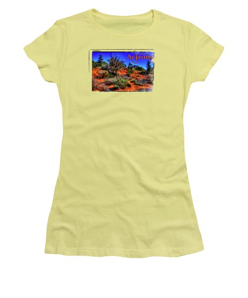 Desert And Mountains Women's T-Shirt (Athletic Fit)