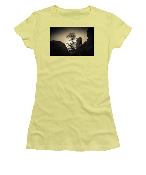 Desert Bonsai Women's T-Shirt (Athletic Fit)