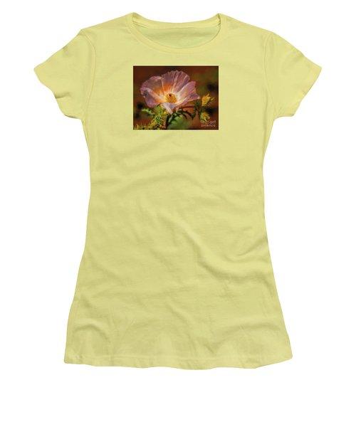 Desert Flower  ... Women's T-Shirt (Junior Cut) by Chuck Caramella