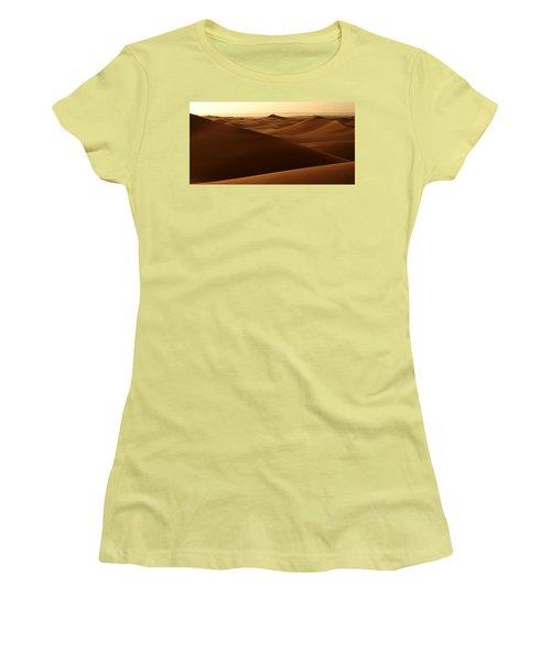 Desert Impression Women's T-Shirt (Junior Cut) by Ralph A  Ledergerber-Photography