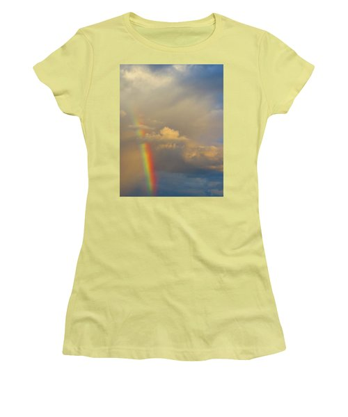 Desert Rainbow Women's T-Shirt (Athletic Fit)