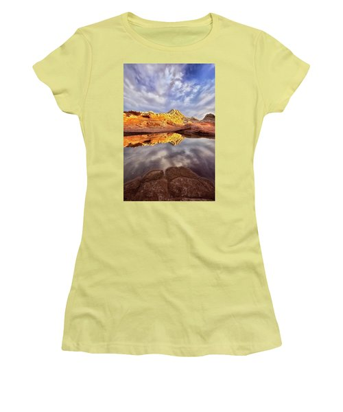 Desert Rock Drama Women's T-Shirt (Junior Cut) by Nicki Frates