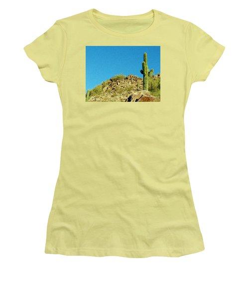 Desert Sky Women's T-Shirt (Junior Cut) by Judi Saunders