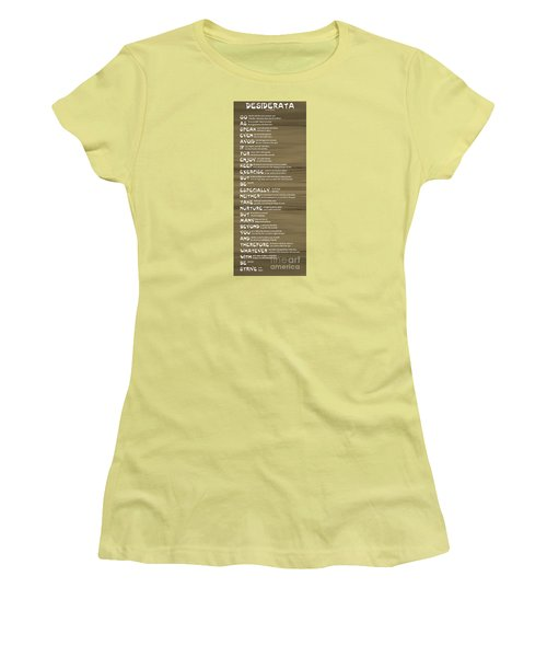 Desiderata 17 Women's T-Shirt (Athletic Fit)
