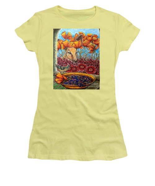 Dessert Anyone? Women's T-Shirt (Junior Cut) by Kim Jones