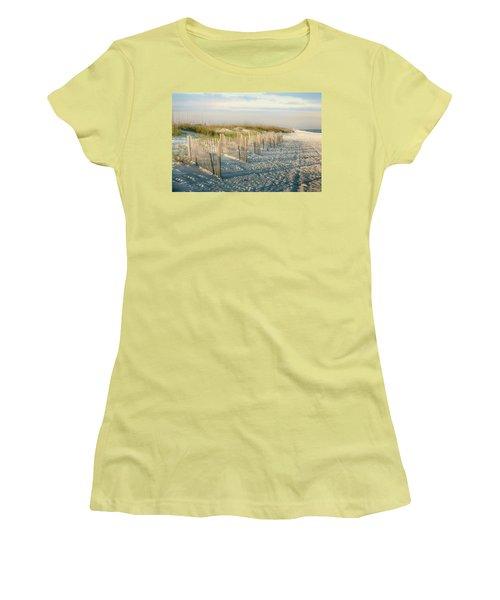 Destination Serenity Women's T-Shirt (Junior Cut) by Sennie Pierson