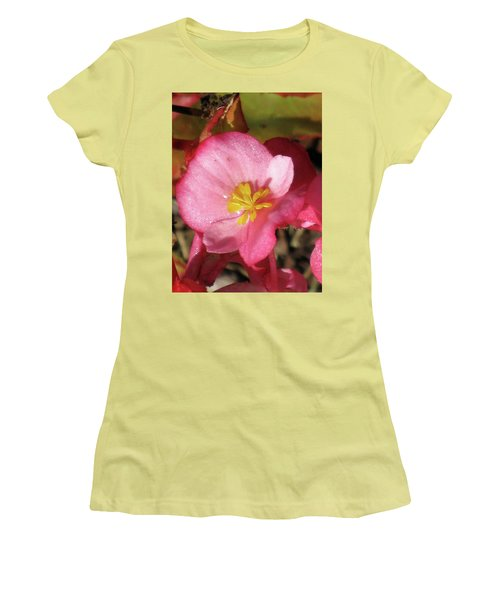 Dew Touched Women's T-Shirt (Junior Cut) by Michele Wilson