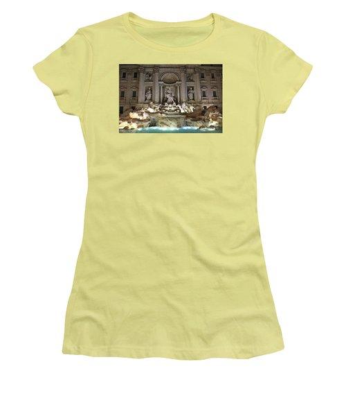 Di Trevi Women's T-Shirt (Athletic Fit)