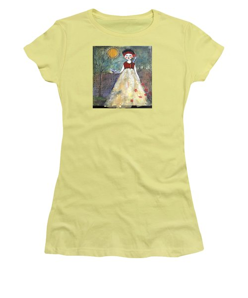 Dining By Midnight  Women's T-Shirt (Junior Cut) by Sharon Furner