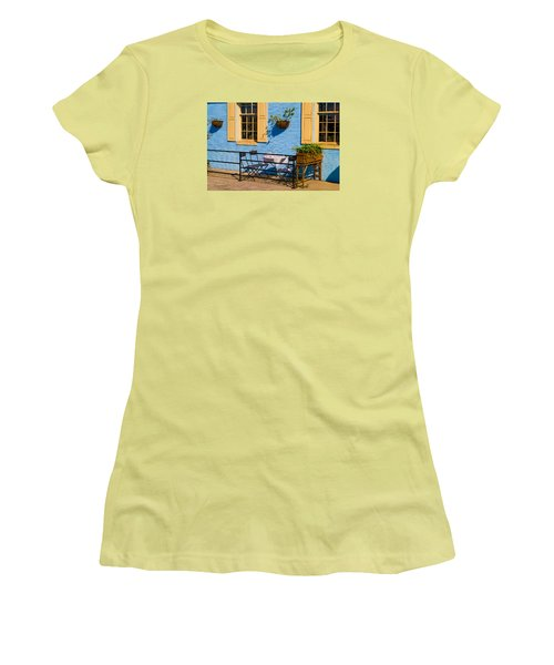 Dining Out Women's T-Shirt (Junior Cut) by Denis Lemay