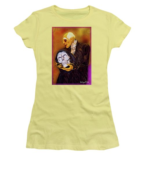 Dinner Is Served Women's T-Shirt (Junior Cut) by Ted Azriel