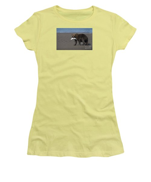 Dinner Time Women's T-Shirt (Athletic Fit)