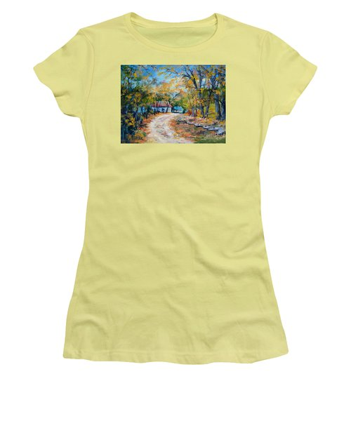 Country Lane Women's T-Shirt (Athletic Fit)
