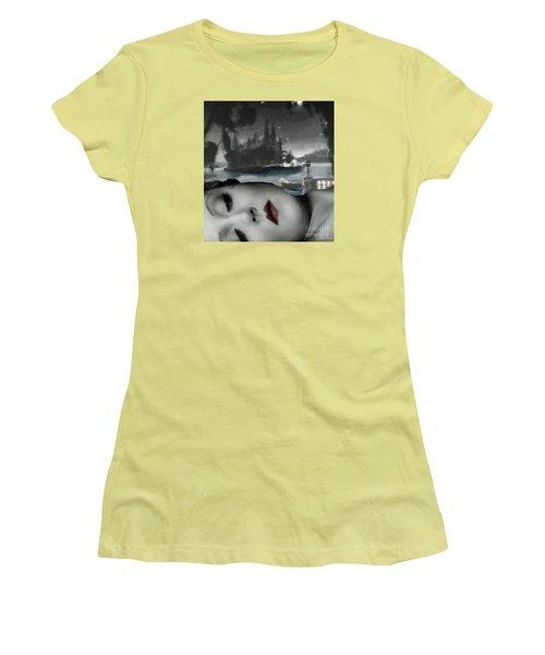 Distant Dreams Women's T-Shirt (Athletic Fit)