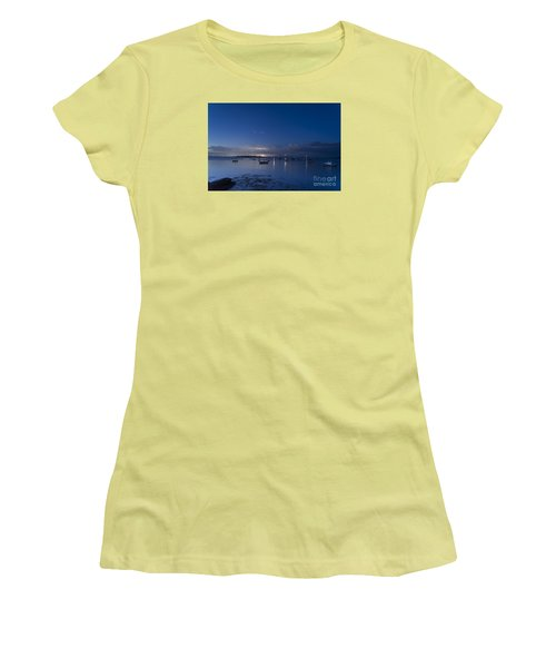Distant Storm Women's T-Shirt (Junior Cut) by Patrick Fennell