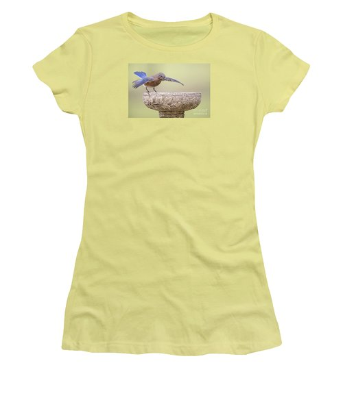 Diving In Women's T-Shirt (Athletic Fit)