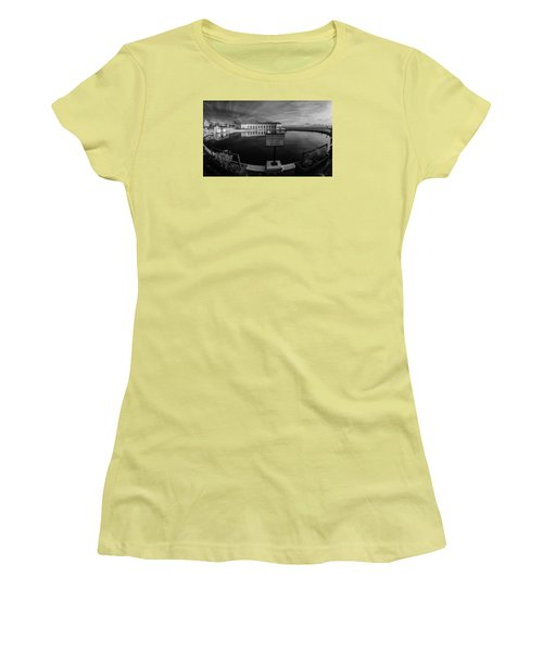 Do Not Throw Women's T-Shirt (Athletic Fit)