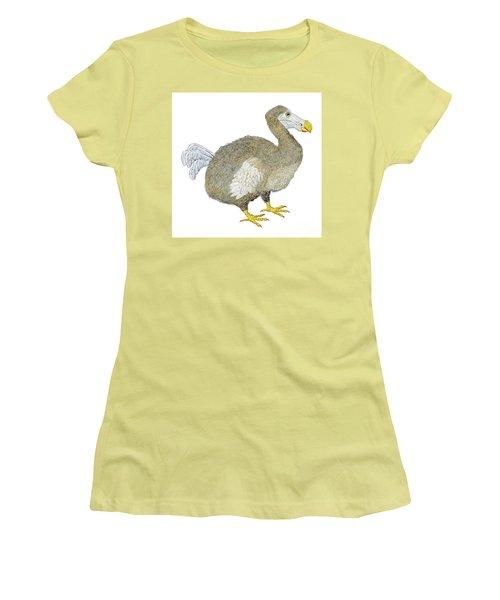 Dodo Bird Protrait Women's T-Shirt (Athletic Fit)