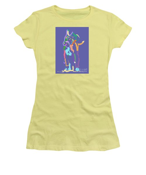 Dog Cookie Women's T-Shirt (Junior Cut) by Go Van Kampen