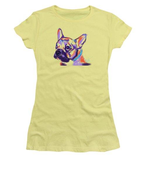 Dog Reggie Women's T-Shirt (Athletic Fit)