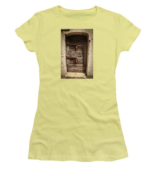 Doge's Jail Door Women's T-Shirt (Junior Cut) by Kathleen Scanlan