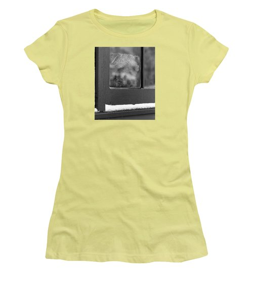 Doggy In The Window Women's T-Shirt (Athletic Fit)