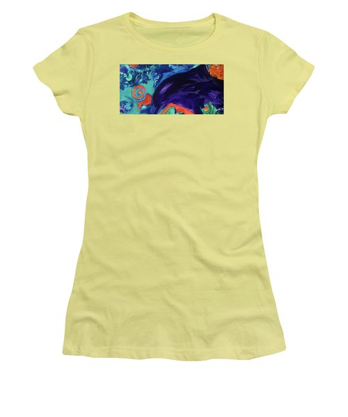 Dolphin Dreams Women's T-Shirt (Athletic Fit)
