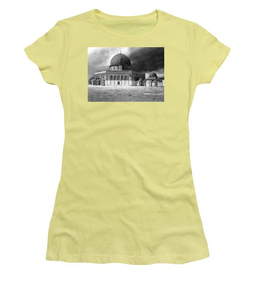 Dome Of The Rock - Jerusalem Women's T-Shirt (Athletic Fit)