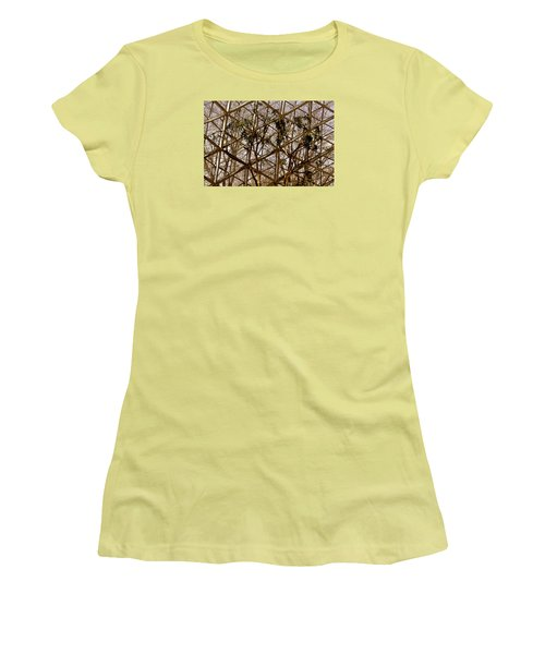 Women's T-Shirt (Junior Cut) featuring the photograph Domes by Michael Nowotny