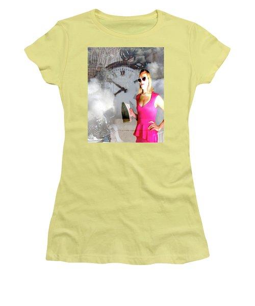Domestic Considerations Drama Women's T-Shirt (Junior Cut) by Ann Tracy