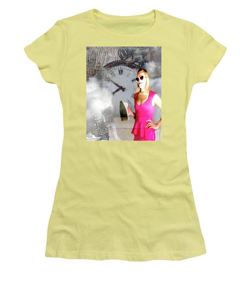 Domestic Considerations Drama Women's T-Shirt (Athletic Fit)