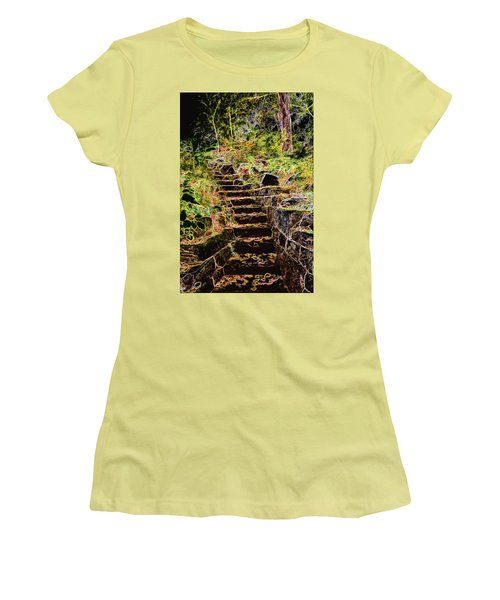 Don't Be Afraid Women's T-Shirt (Athletic Fit)