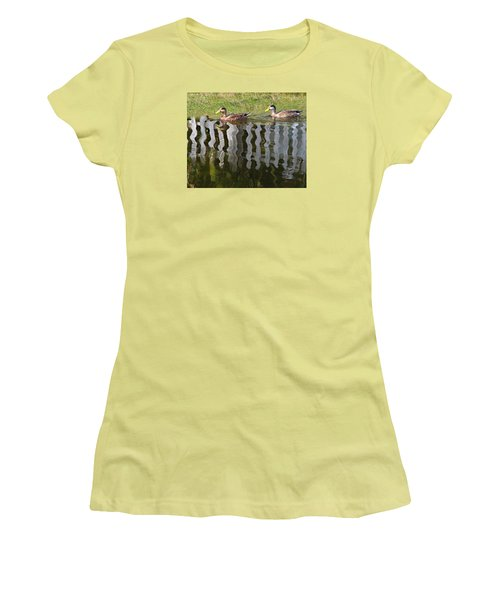 Don't Fence Us In Women's T-Shirt (Junior Cut) by Kathy M Krause
