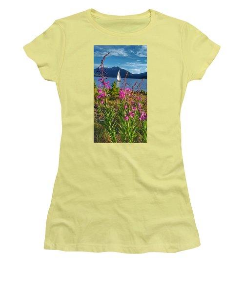 Don't Rush A Good Thing Women's T-Shirt (Junior Cut) by Fiona Kennard