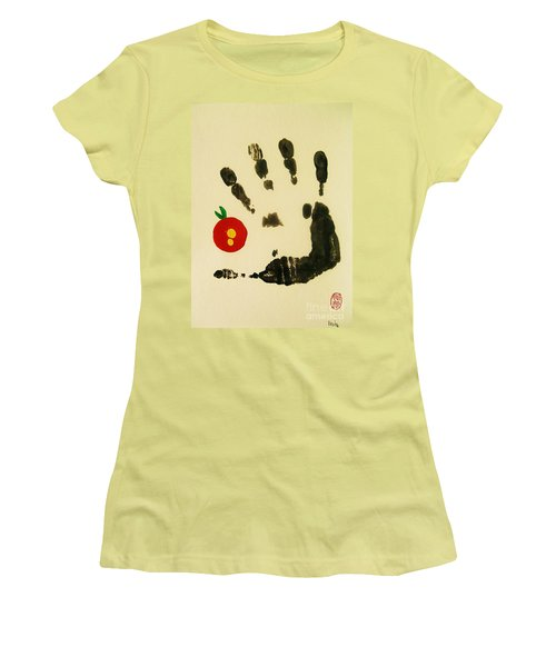 Don't Touch Me Women's T-Shirt (Junior Cut) by Roberto Prusso
