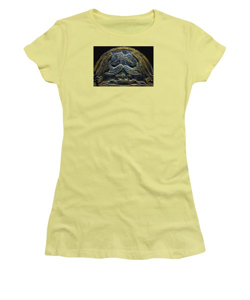 Double Angel Memorial Women's T-Shirt (Junior Cut) by Lisa Brandel
