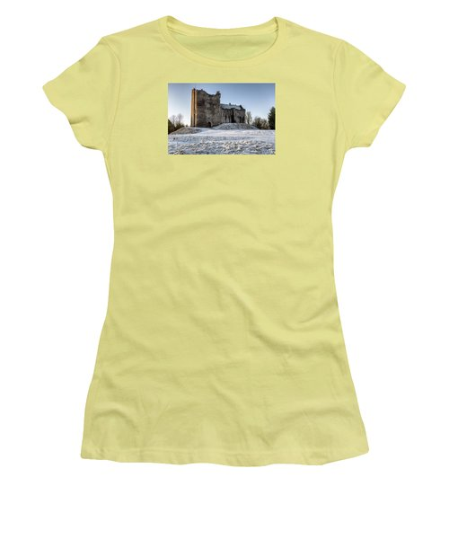 Doune Castle In Central Scotland Women's T-Shirt (Athletic Fit)