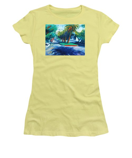 Downhill Women's T-Shirt (Athletic Fit)